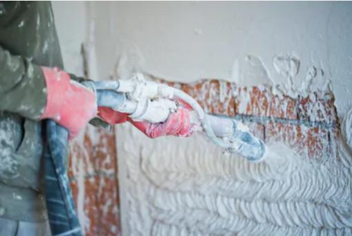 Машинная штукатурка – современное решение для отделки стен